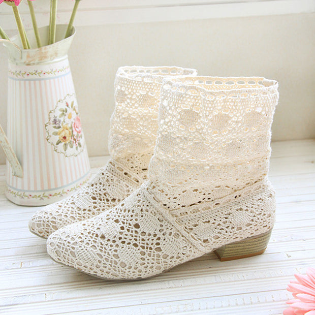 crochet summer boots bootie in 2017 with the new shoes, lace