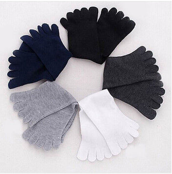 2015 New Men Women Socks Ideal For Five 5 Finger Toe Shoes Unisex