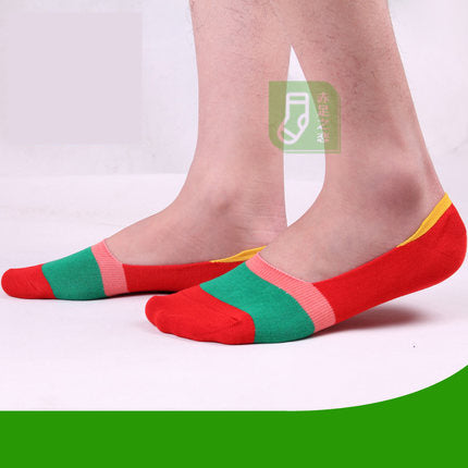 Free shipping 10pieces=5 pairs=1 lot 2017 Sock slippers men summer