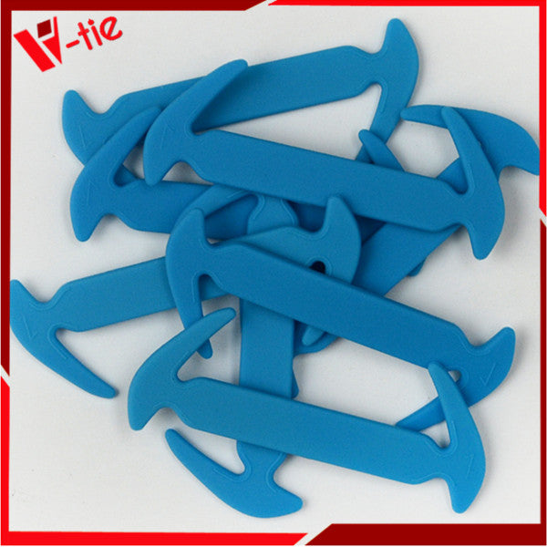 12pcs/pack No Tie Shoelaces for Kids Easy Tie Shoe Laces for