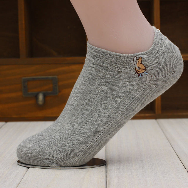 1 Pair New Candy Women Short Ankle Boat Low Cut Socks Crew Casual