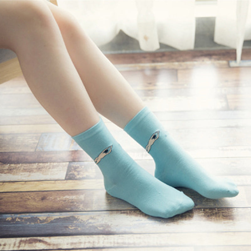 1 Pair Winter Autumn Warm Fashional Candy Color Women Lady Girls