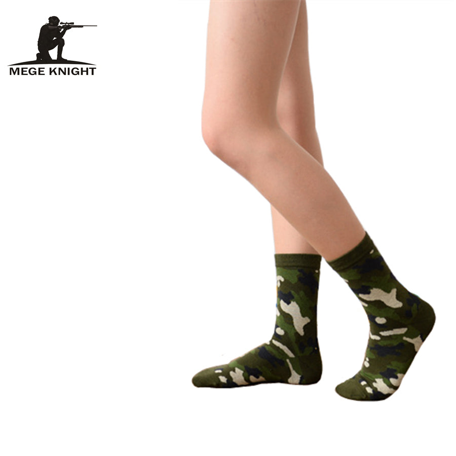 2014 Winter Tactical Combat Warm Thicken Socks, Men Camouflage Army