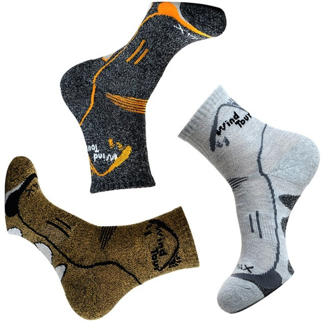 3 Pair/Lot 2017 Men Brand Casual 4 Season Socks Quick Dry Breathable