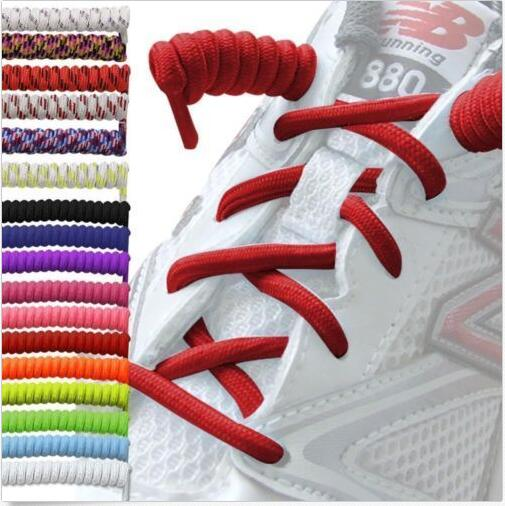 1Pair Curly Elastic Shoelaces No Tie Trainer Kids Shoe Laces Colours