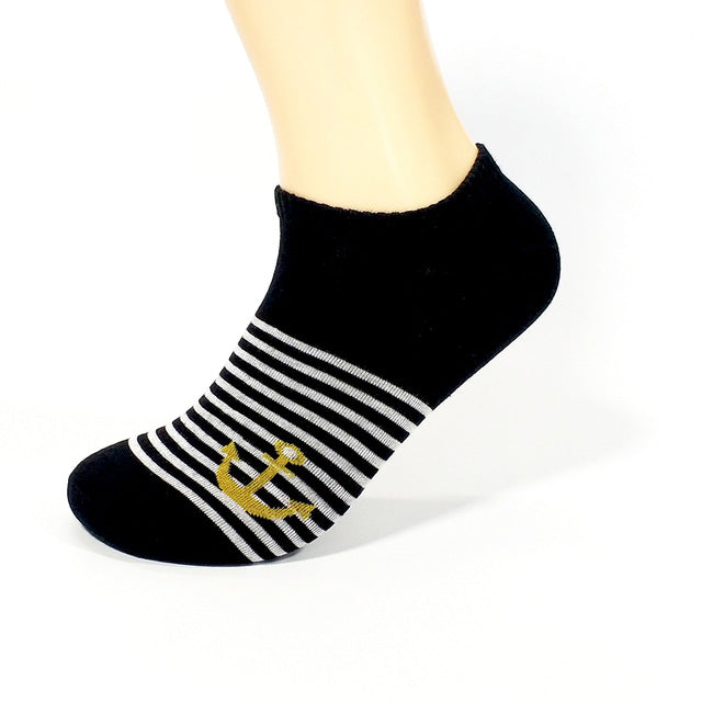 2017 Brand New Summer Colorful Short man Casual Cotton Socks Men Ankle