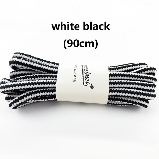 1 pair 90cm Wholesale Fashion Brand Polyester Sneaker Shoe Lace Double