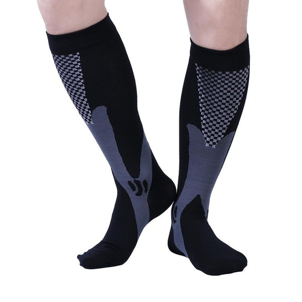 2 Size Unisex Stress Relief Compression Socks Extreme Fit