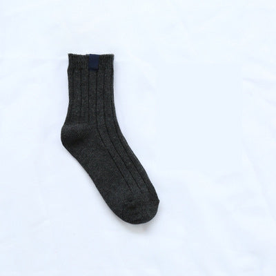 1Pair Winter Warm Sock Men Sock Chausettes Homme Breathable Happy