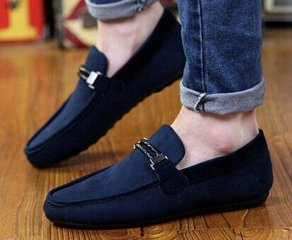 2015 New arrival Fashion casual men's loafers soft breathable men's