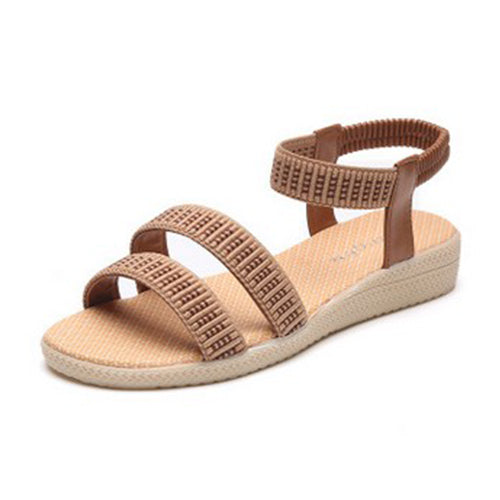 15 Colors Flats Women Sandals Fashion Casual Beach Girls Summer