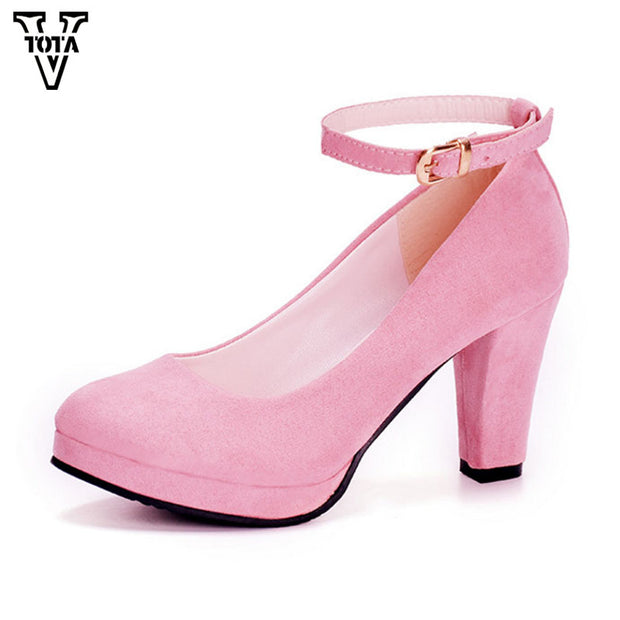 VTOTA 2017 Autumn Shoes Woman Women's High Heels Sexy Women Pumps