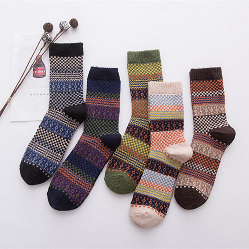 2017 Super High Quality Men Socks Warm Thick Wool  Mixture Cashmere