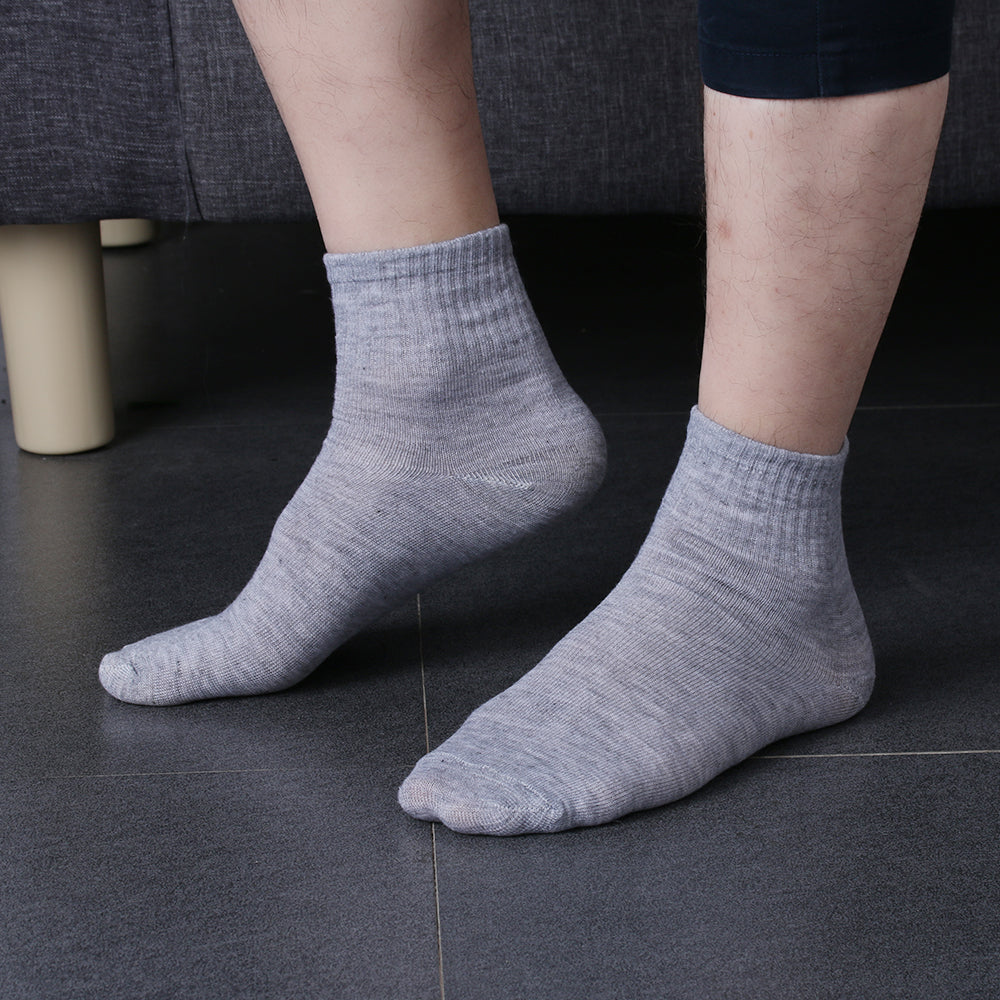 1PairNew Fashion Black/White/Grey Men Unisex Cosy Cotton Home Sock