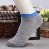 1Pair Fashion Men Cotton Short Breathable Casual Socks New Candy