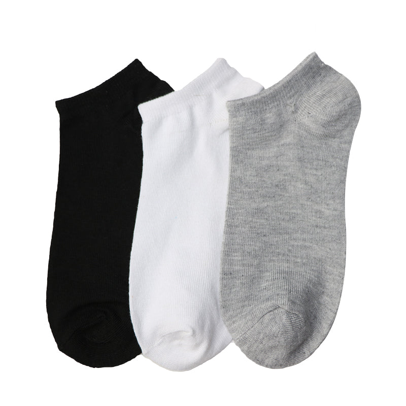 5 Pair Classic Man Socks Male Ankle Socks For Men Pure Color