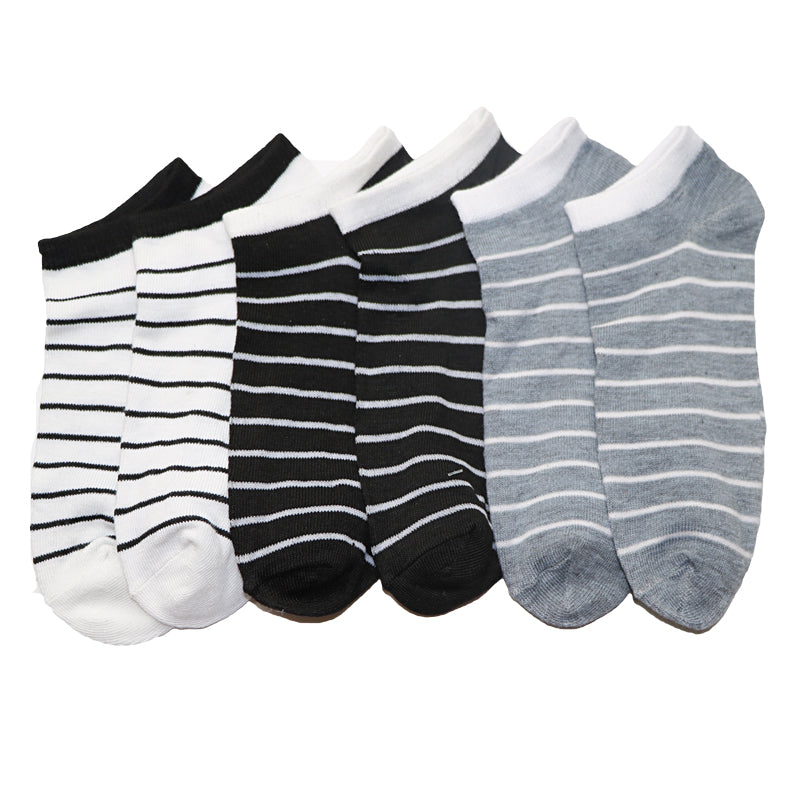 1Pair Colorful Men's Stripes Socks Meias Homens Summer Casual Boat