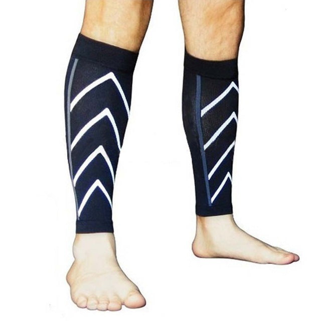 1 Pair Exercise Calf Support Graduated Compression Socks Calcetines