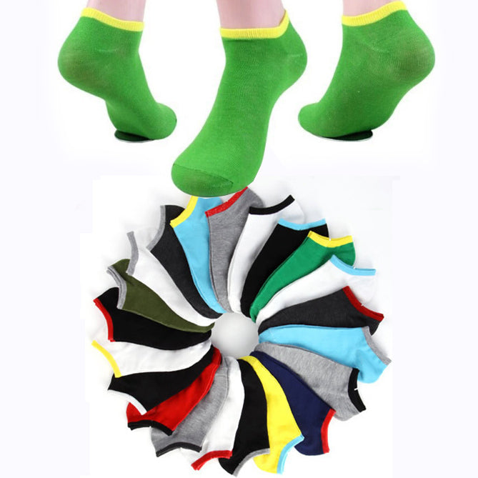 10 pairs / lot Men's summer socks quality polyester cotton casual