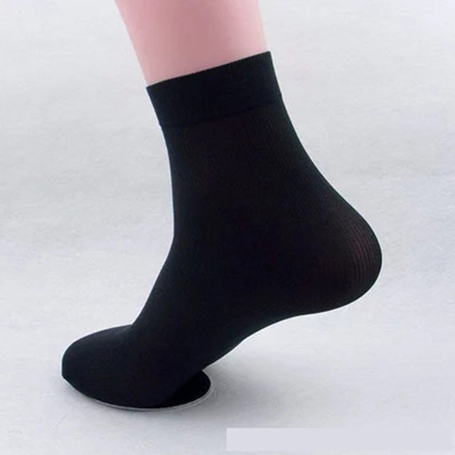 20 Pairs/ Lot High Quality Brand Men Business Casual  Silk Socks