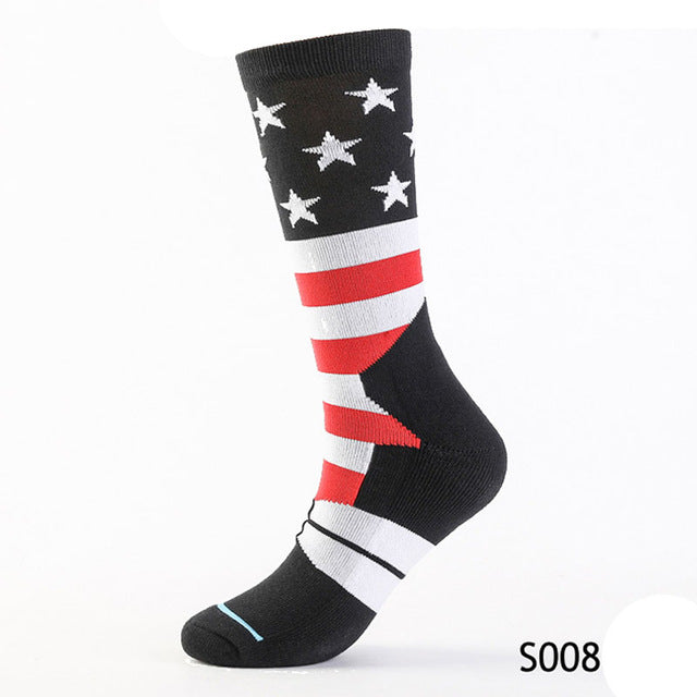 1 Pair High Quality Long Socks For Men Profession Socks Mens Cotton