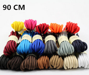 One Pair Free Shipping 90CM Multi-Color Practical Strong Round