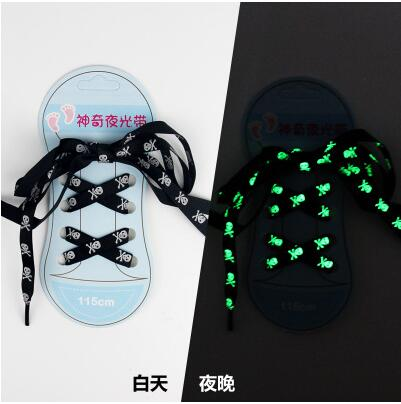 1Pair Kids Child Luminous Shoes Laces Fashion All Sneakers Fit Strap