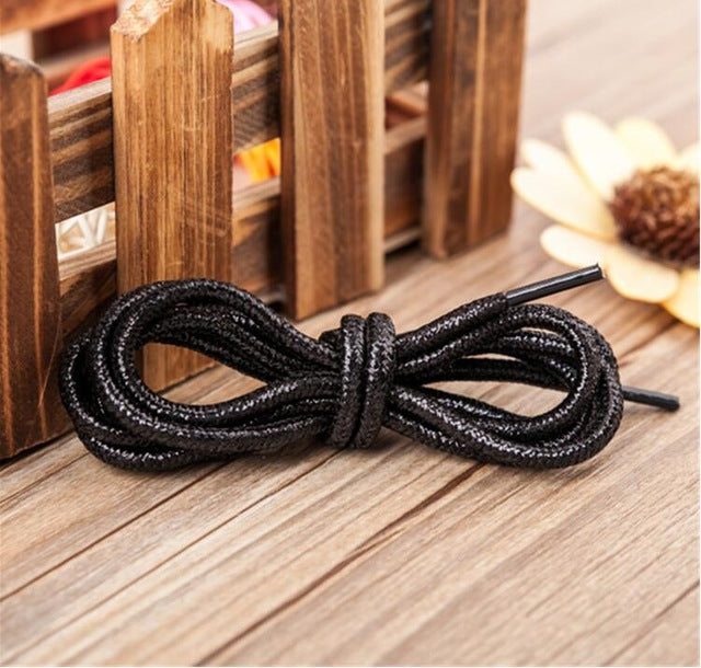 120cm/47'' Flashes Round Shoes Laces All Sneakers Shoelace for Women