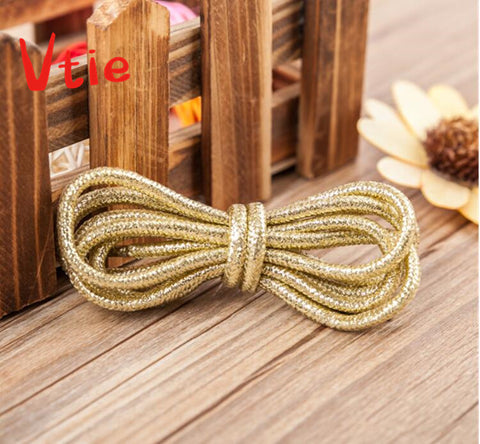 80cm/31.5'' Girls Shoelace Flashes Round Shoes Laces All Sneakers Stap Shoelace for Women Shoes Lady Shoes
