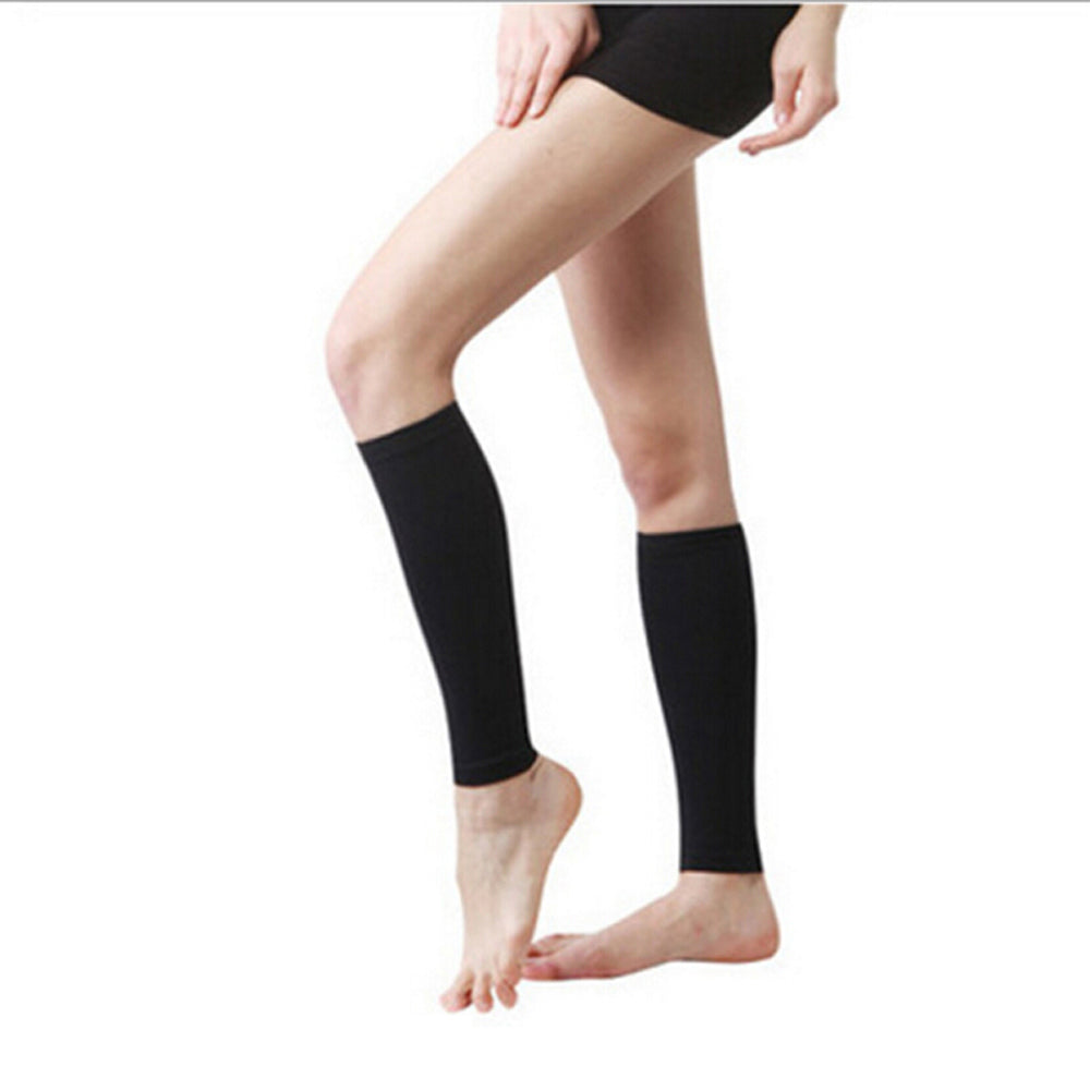 1 Pair Unisex Stockings Antifatigue Compression Knee Socks Women's