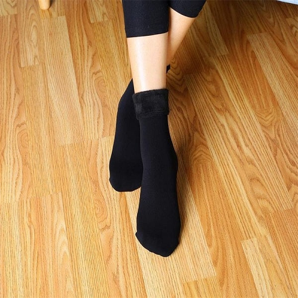 1 Pair Winter Women Stock Wool Home Snow Boots Cotton Socks