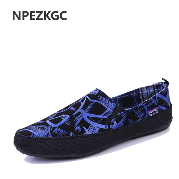 Men Shoes 2017 Summer Loafers New Breathable Canvas Shoes High Quality
