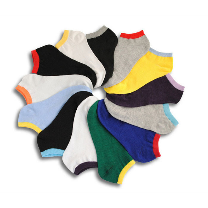 Men's socks Spring and summer casual fashion male socks invisible