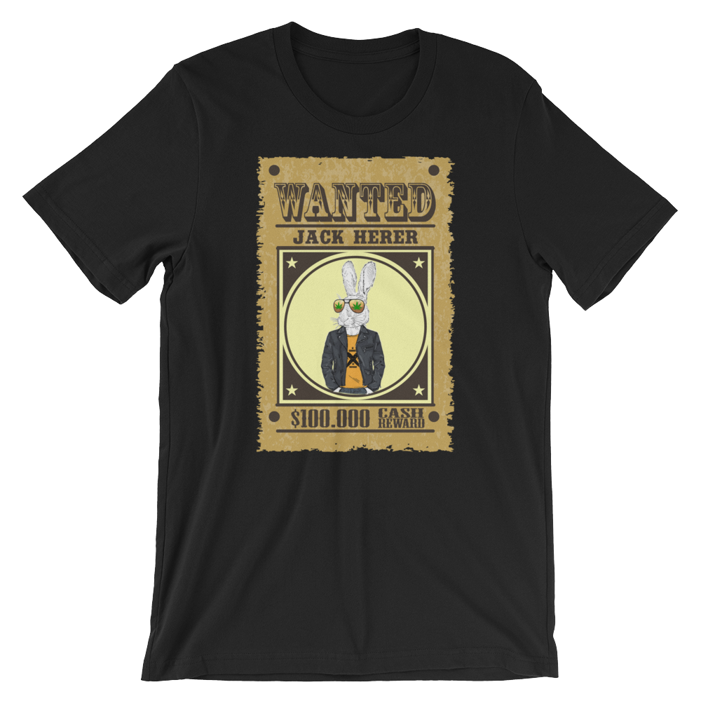 Wanted: Jack Herer Weed Strain Shirt