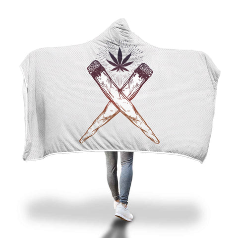 Cross Joints | Hooded Blanket