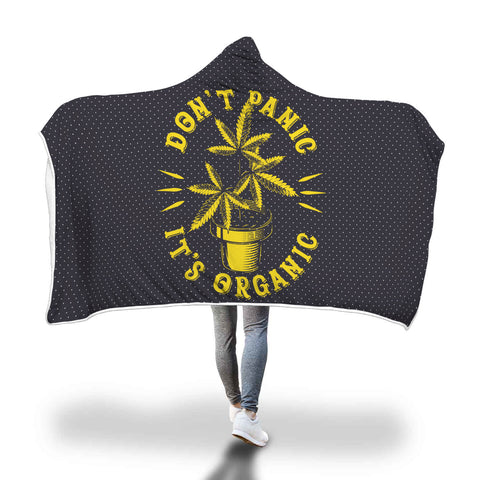 Blanket Hoodie | Don't Panic It's Organic Plant