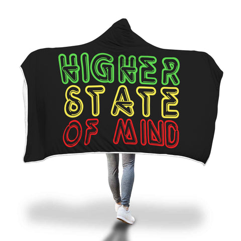 Blanket Hoodie | Higher State Of Mind Rasta