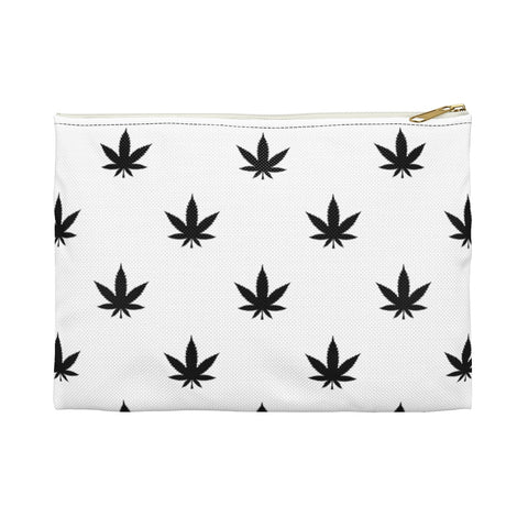 Carry All Pouch | Black Leaves