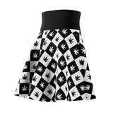 Women's Skater Skirt | Checkerboard