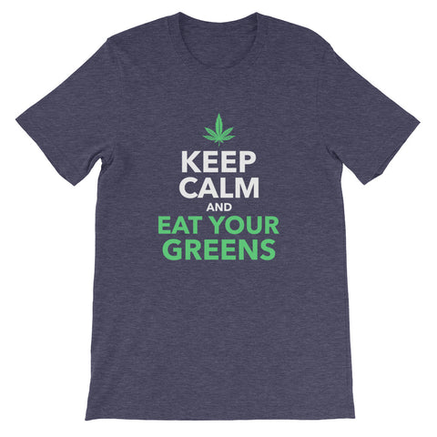 Unisex Crew Neck | Keep Calm and Eat Your Greens