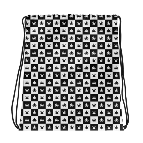 Drawstring Bag | Checkerboard Drawstring Bag