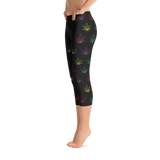 Leggings | Multicolor Capri Leggings