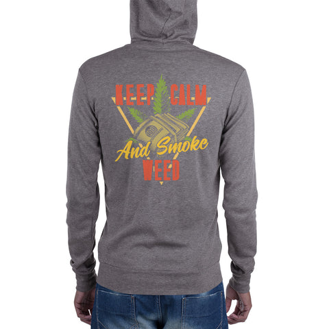 Unisex Hoodie | Keep Calm and Smoke Weed