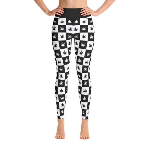 Leggings | Checkerboard Yoga Leggings