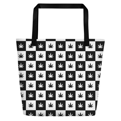 Beach Bag | Checkerboard