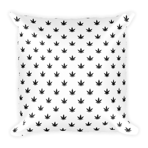 Pillow | Black Leaves