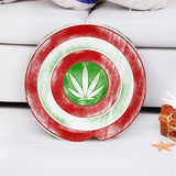 Throw Pillow | Captain Amerijuana