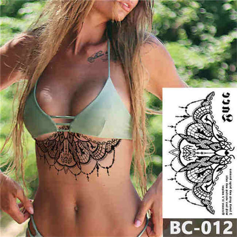 Chandelier - Boston Temporary Tattoos