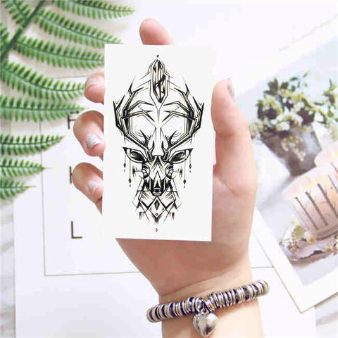 Elk - Boston Temporary Tattoos