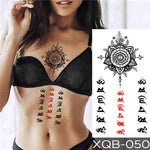 Sun Letters - Boston Temporary Tattoos